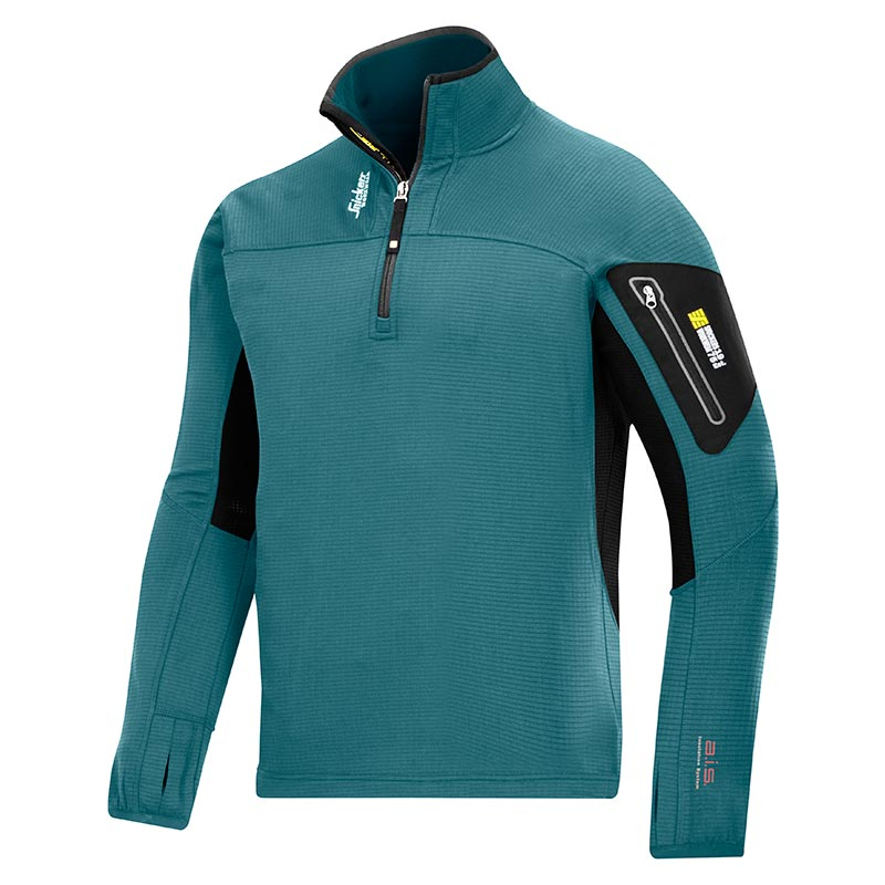 Snickers 9435 Body Mapping ½ Zip Micro Fleece-5104