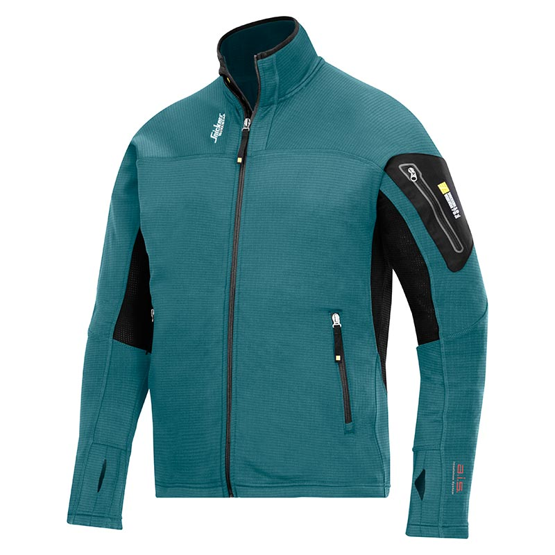 Snickers 9438 Body Mapping Micro Fleece Jack 9438-5104