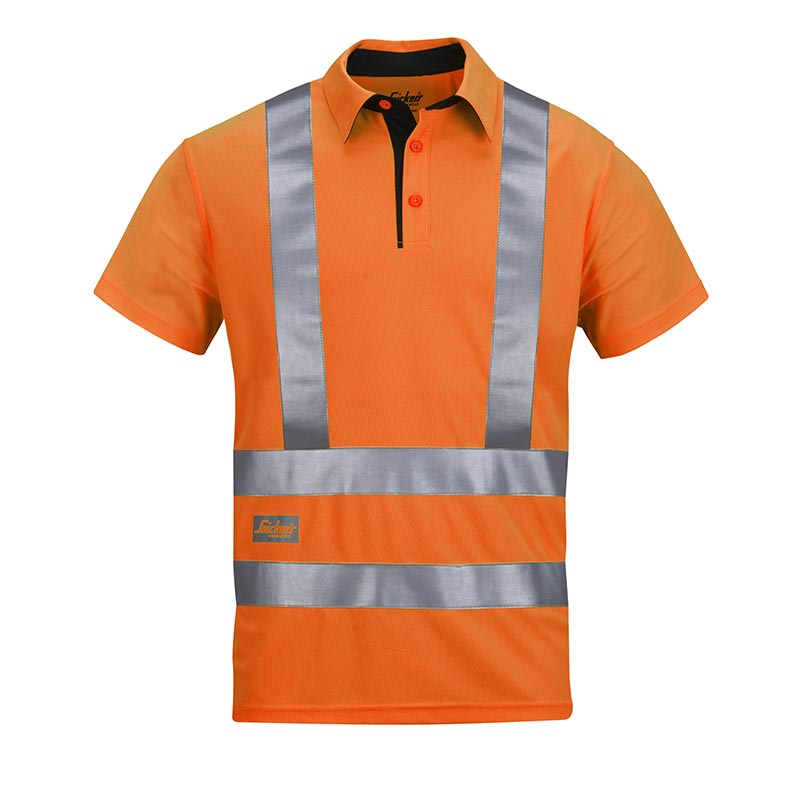 Snickers AVS Poloshirt High Visibility 2743-5500