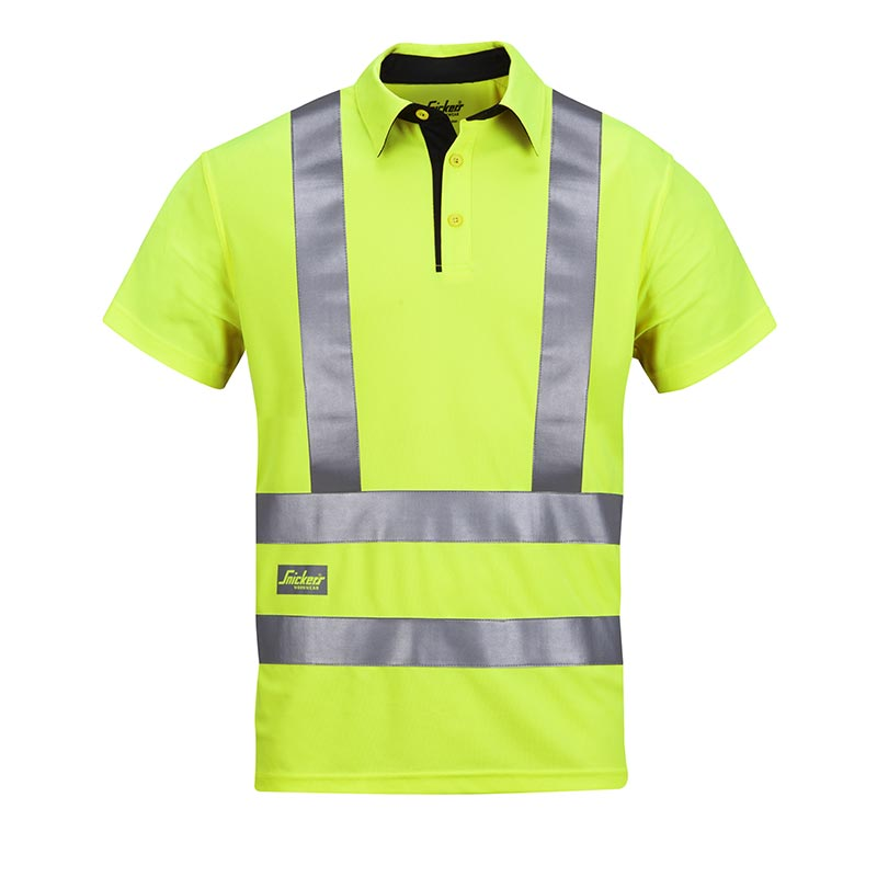 Snickers AVS Poloshirt High Visibility 2743-6600