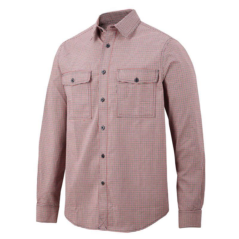 Snickers AllroundWork Geruit Comfort Shirt met Lange Mouwen 8507-1695