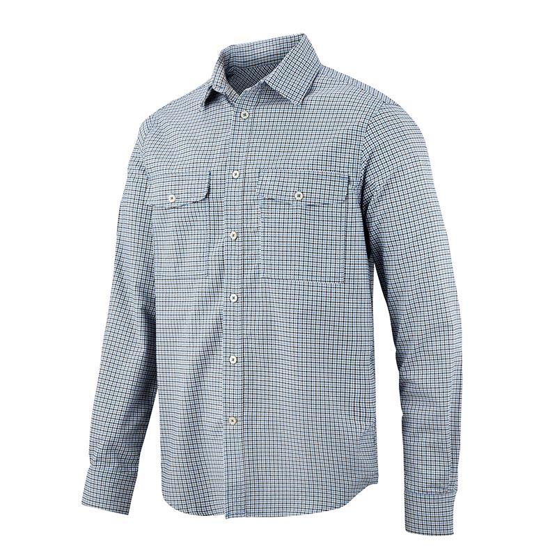 Snickers AllroundWork Geruit Comfort Shirt met Lange Mouwen 8507-5495