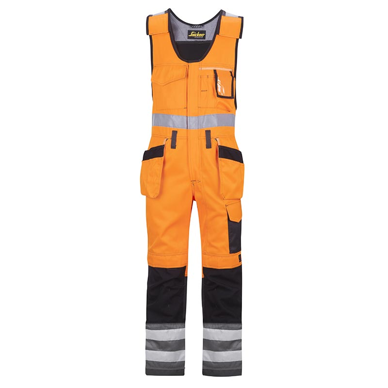 Snickers Bodybroek met Holsterzakken High Visibility 0213-5574