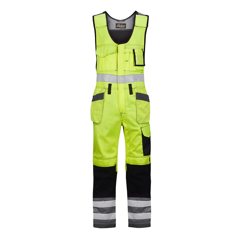 Snickers Bodybroek met Holsterzakken High Visibility 0213-6674