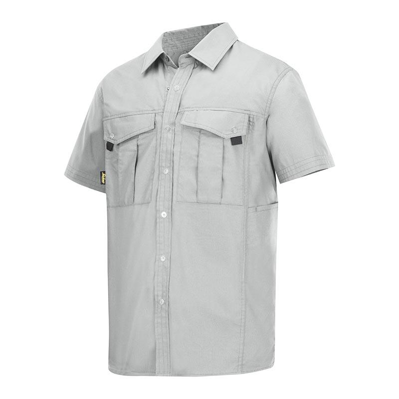 Snickers Rib Stop Shirt korte mouwen 8506-0800