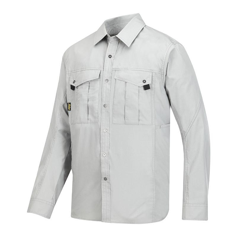 Snickers Rib Stop Shirt lange mouwen 8508-0800