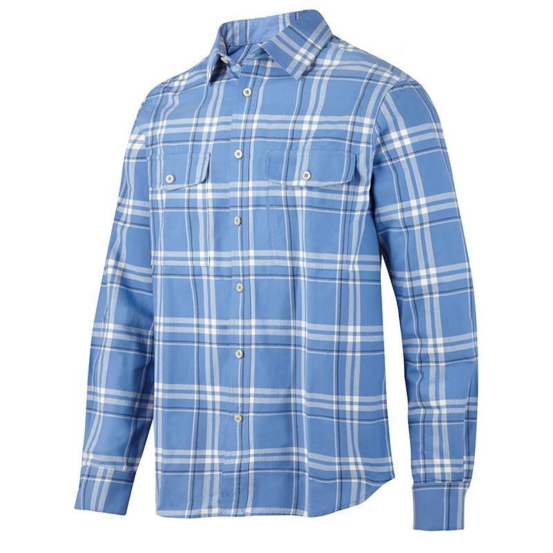 Snickers Ruffwork Geruit Flanellen Shirt met Lange Mouwen 8502-5458
