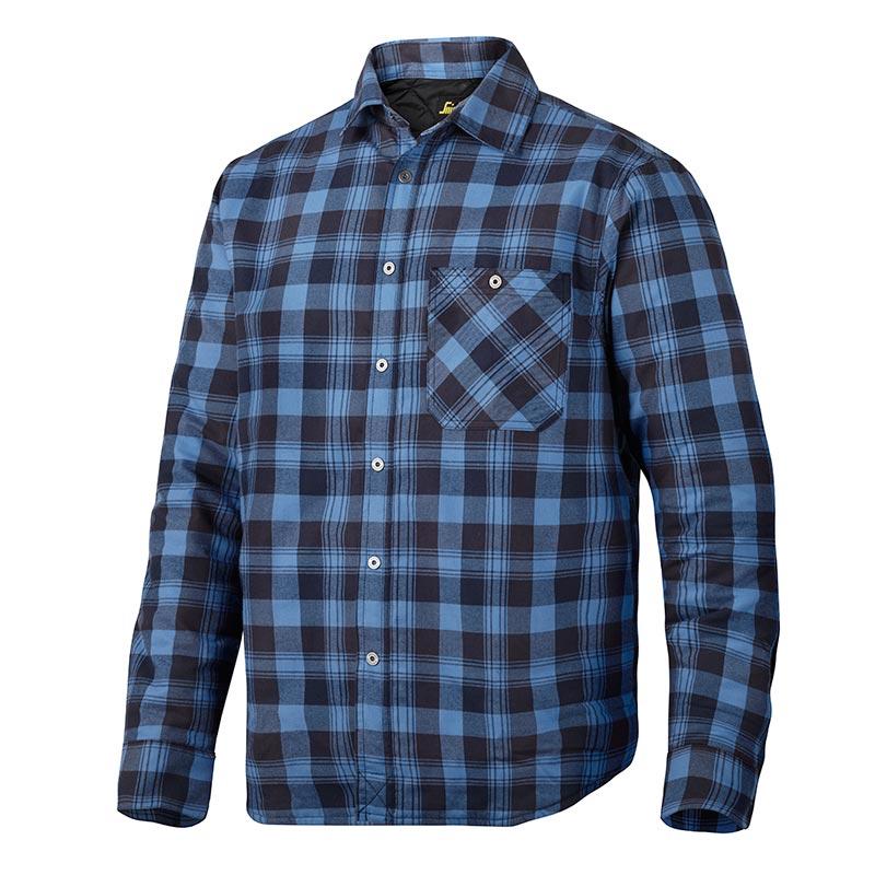 Snickers Ruffwork Geruit Gevoerd Flanellen Shirt met Lange Mouwen 8501-9554