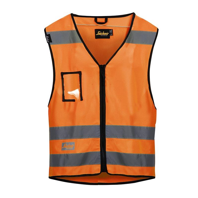 Snickers Vest High Visibility Klasse 2 9153-5500