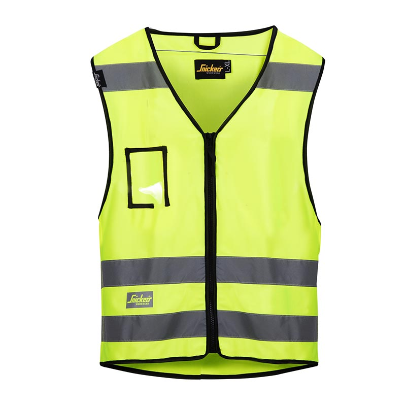 Snickers Vest High Visibility Klasse 2 9153-6600