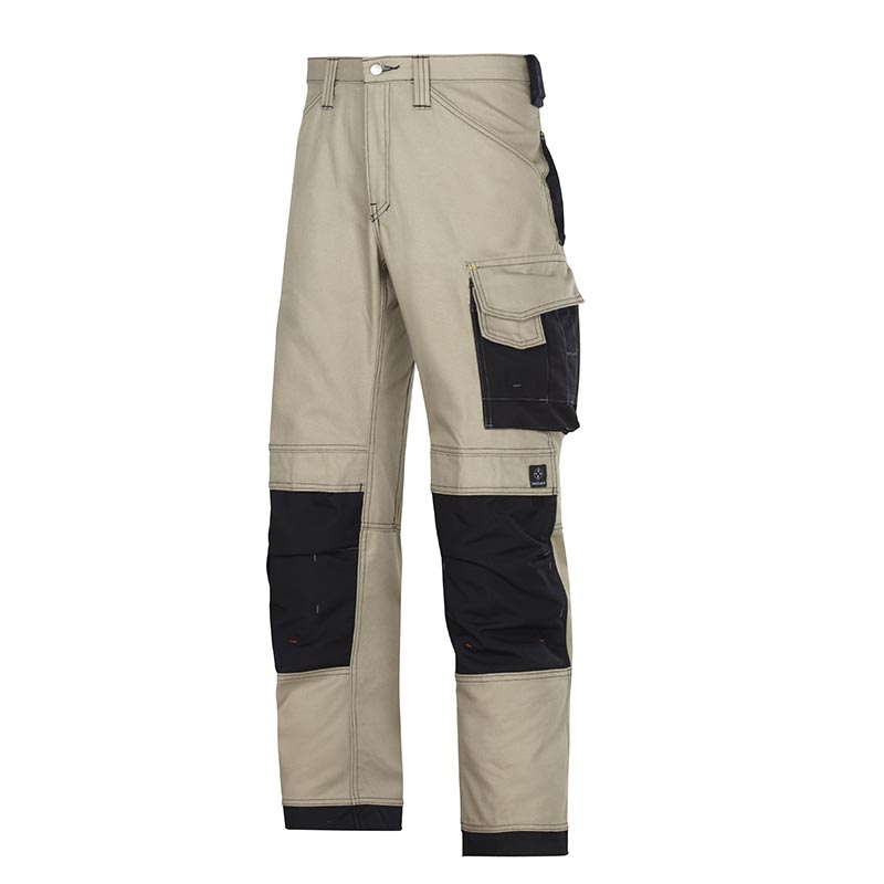 Snickers 3314 Canvas+ Broek 3314-2004