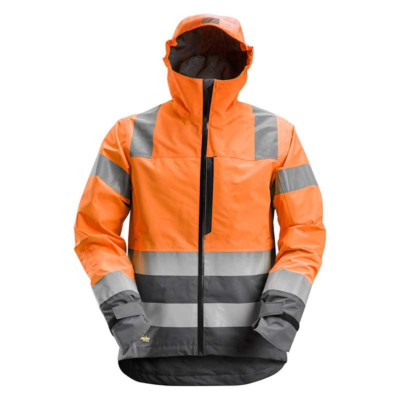 Snickers 1330 AllroundWork High-Vis Waterproof Shell Jack 5558