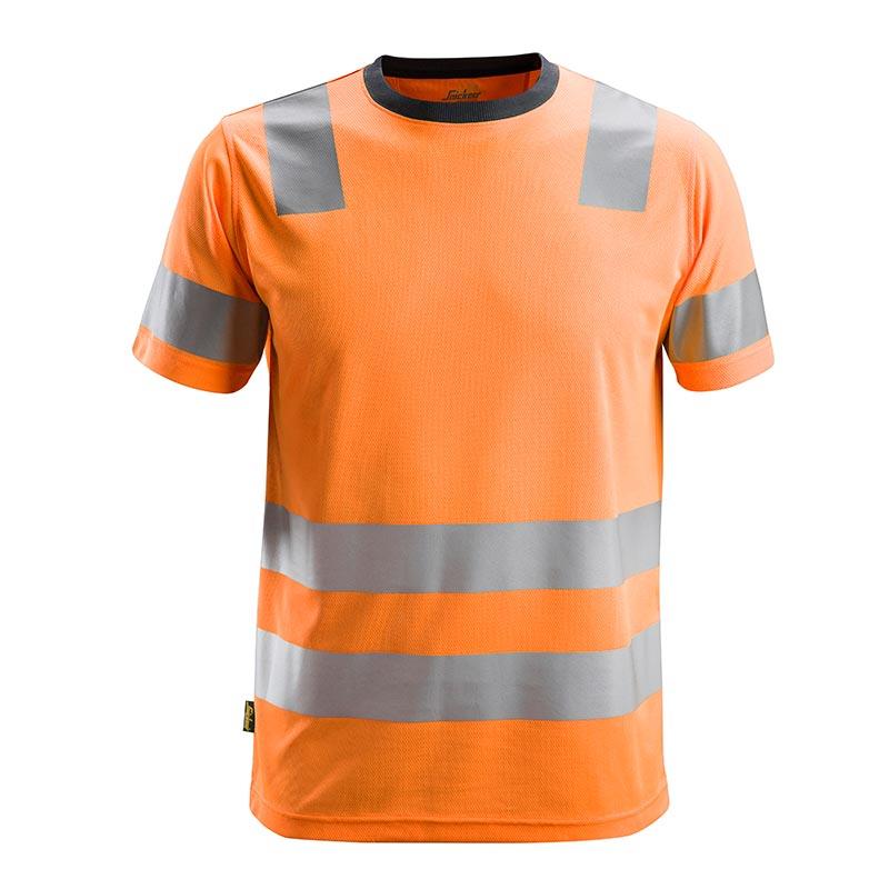 Snickers 2530 AllroundWork High-Vis T-shirt Klasse 2 2530-5500