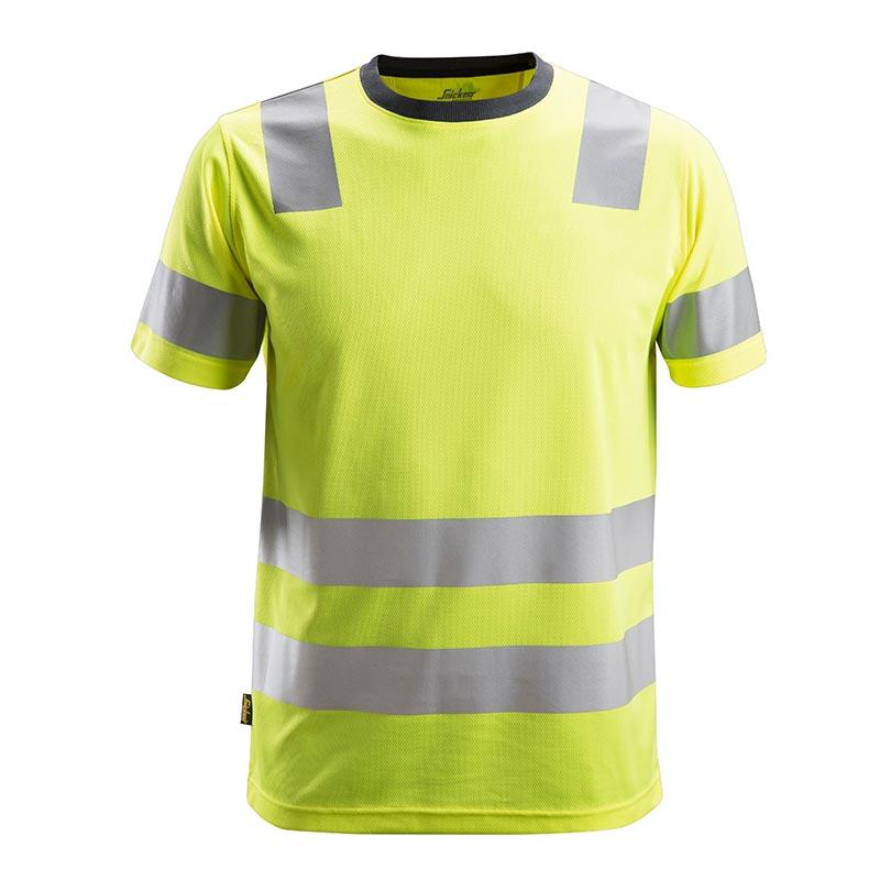Snickers 2530 AllroundWork High-Vis T-shirt Klasse 2 2530-6600