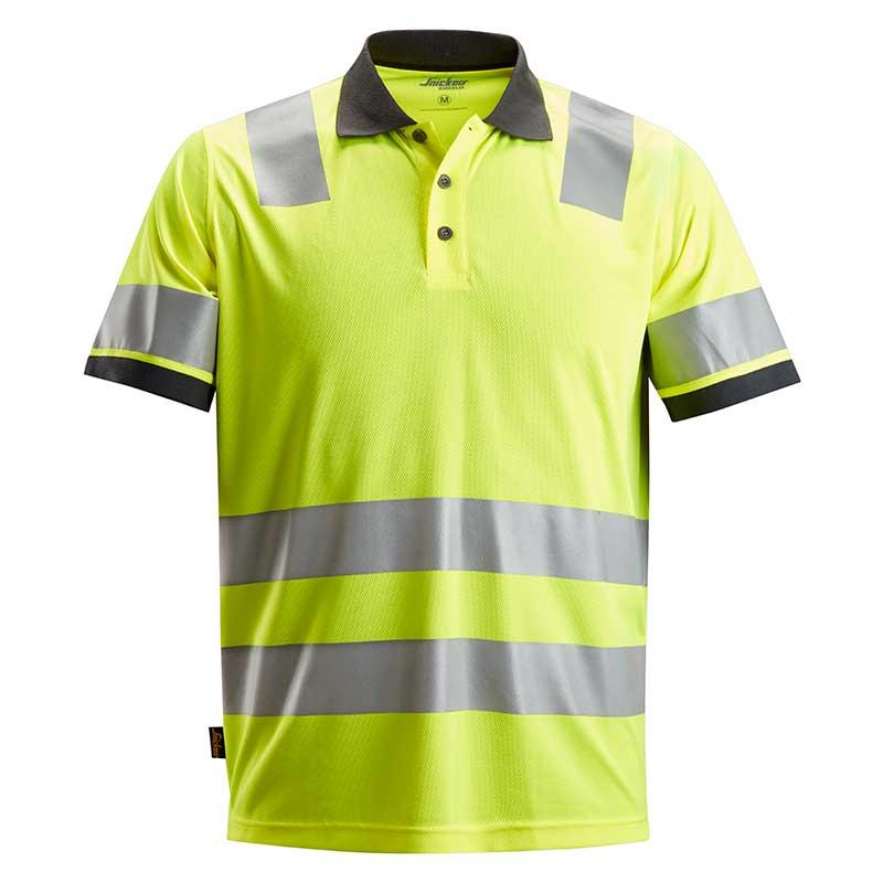Snickers 2730 AllroundWork High-Vis Polo Shirt Klasse 2 2730-6600