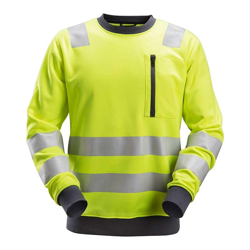 Snickers 8037 AllroundWork HighVis SweatshirtKlasse 3-6600