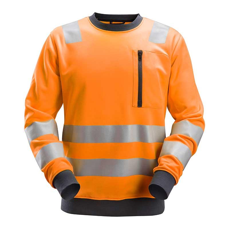Snickers 8037 AllroundWorkHigh Vis Sweatshirt Klasse 3-5500