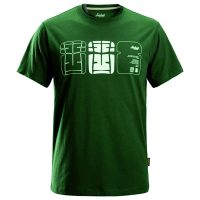 Snickers t-shirt 2522 forest green