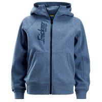 rs junior hoodie 7508 dark blue melange