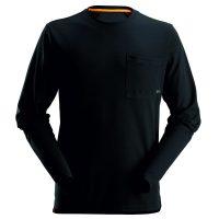 Snickers 2498 t-shirt lange mouw zwart