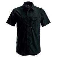 Snickers 8520 blouse korte mouw zwart