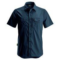 Snickers 8520 blouse korte mouw navy
