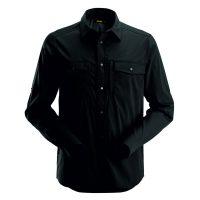 Snickers 8521 blouse lange mouw zwart