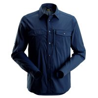 Snickers 8521 blouse lange mouw navy